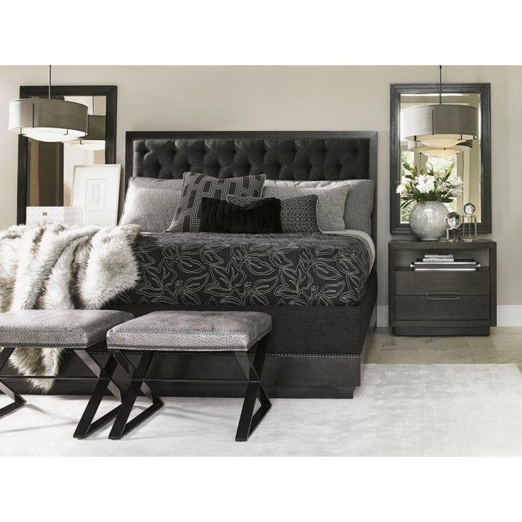 Lexington Furniture 911 133C Carrera Queen Upholstered Bed