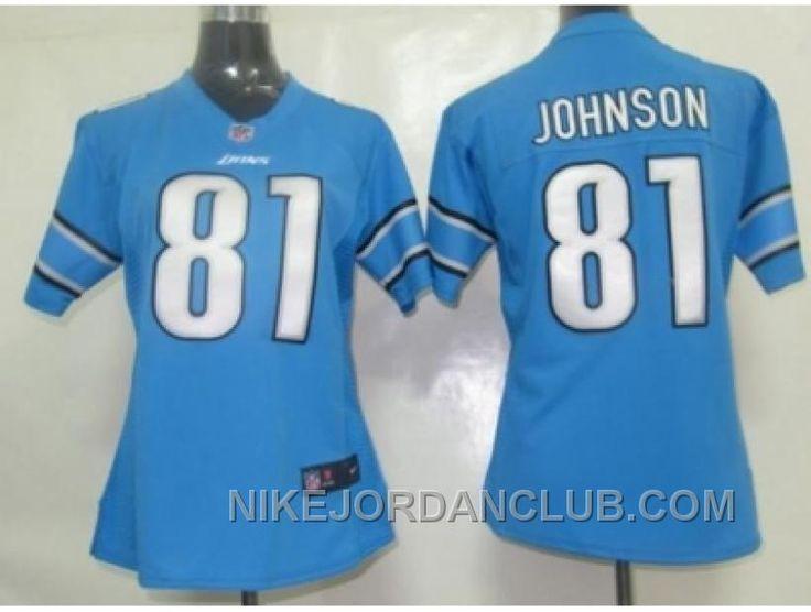 http://www.nikejordanclub.com/nike-women-nfl-jerseys-detroit-lions-81-calvin-johnson-blue-xxsxz.html NIKE WOMEN NFL JERSEYS DETROIT LIONS #81 CALVIN JOHNSON BLUE XXSXZ Only $23.00 , Free Shipping!