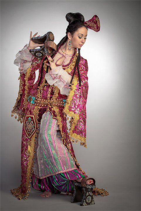 Костюм османской империи 16 -го века Елена Лисовская