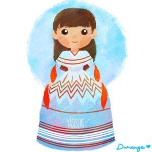 México colores y diseños de sus trajes típicos Durango
