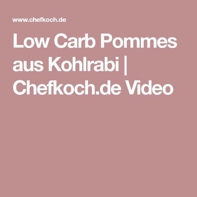 Low Carb Pommes aus Kohlrabi | Chefkoch.de Video