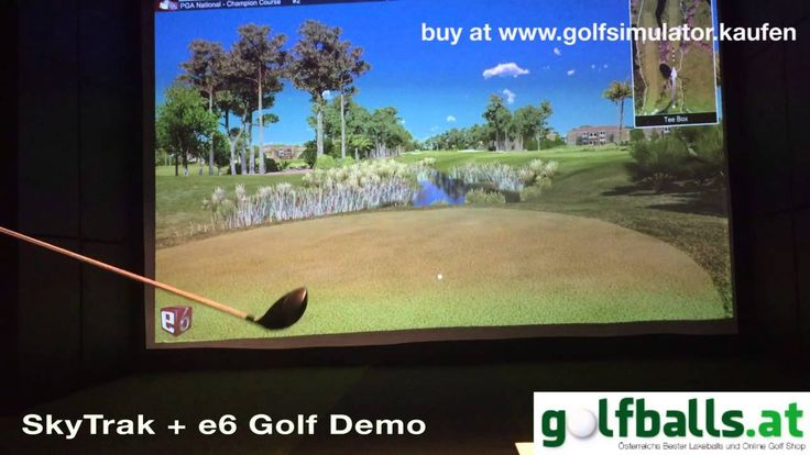 SkyTrak Golf with e6 Golf Simulator - English Version
