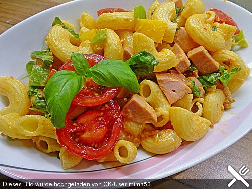 Nudelsalat mit Brunch Paprika-Peperoni (Rezept mit Bild) | Chefkoch.de