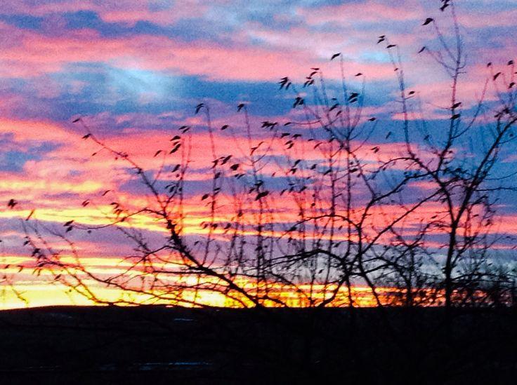 Newcastle, Wyoming sunset