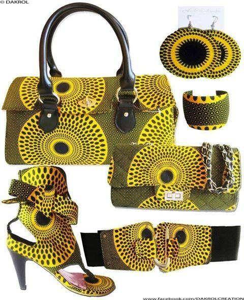 Lovely African accessories
