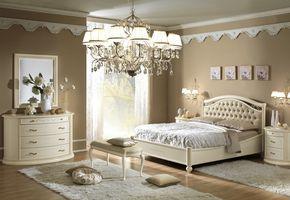 Κρεβάτι με Καπιτονέ Κεφαλάρι και Ψηλό ή Χαμηλό Ποδαρικό CG-080487