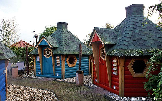 Aussensauna im Wellnesszentrum Palestra im Ferienpark Landal Stroombroek  #sauna #wellness #achterhoek #niederlande