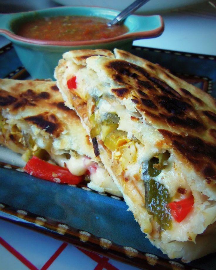 Sincronizadas: Double-Stacked Quesadillas - Hispanic Kitchen