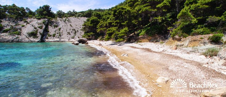 Beach Velo Borče - Milna - Island Hvar - Dalmatia - Split - Croatia