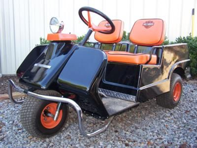 19 best images about harley davidson golf cart on for Golf cart motor repair