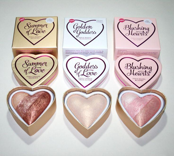 Makeup Revolution I Heart Makeup Blushing Hearts - New Shades