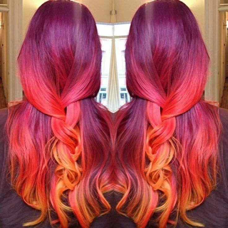 Amazing hair colour