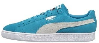 Puma Mens Suede Classic Low Top Lace Up Fashion Sneaker.