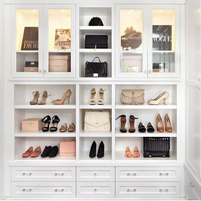 Gorgeous Closet Organization. The Luxe U0026 Feminine Closet Above Led Me  To A Fabulous New