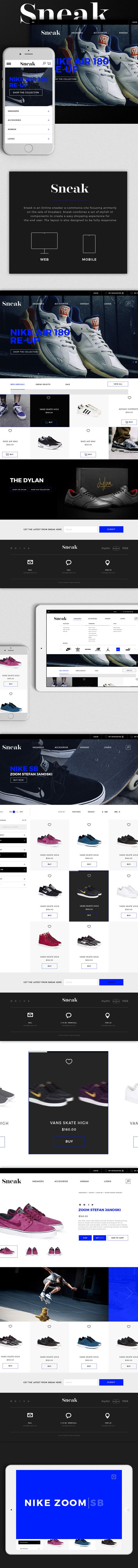 Sneak on Behance