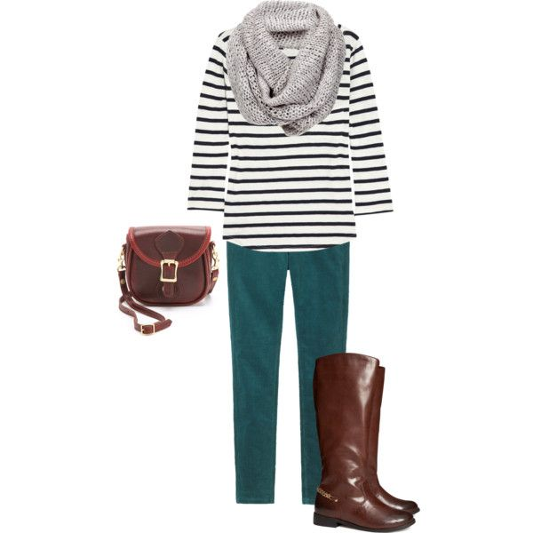 """Teal Jeans Option #1"" by seattlechic on Polyvore"