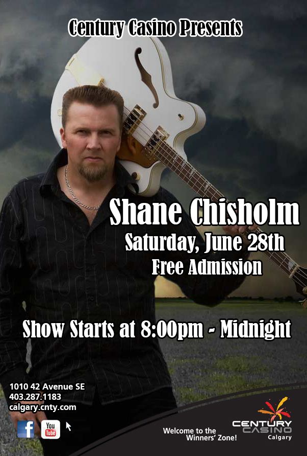 Shane Chisholm One night- one hour! Showtime 11pm June 28th