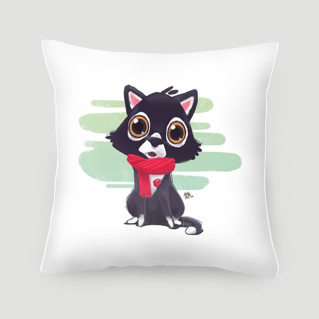 Pillow 40x40 cm (with insert) |  Terbuat dari kanvas linen dengan isi sisipan berbahan dakron. Tersedia dalam pilihan sarung bantal saja, atau lengkap dengan isian. #pillows #cushions #arts #prints #etsy #artwork #gift #design #home #decor #love #interior #trends #unique #photography #ideas #photo #inspiration #diy