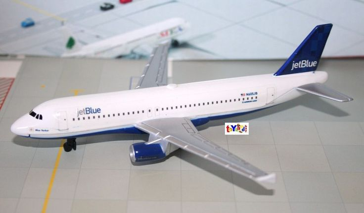 Details About Diecast Jetblue Airlines Airbus 320 Blue
