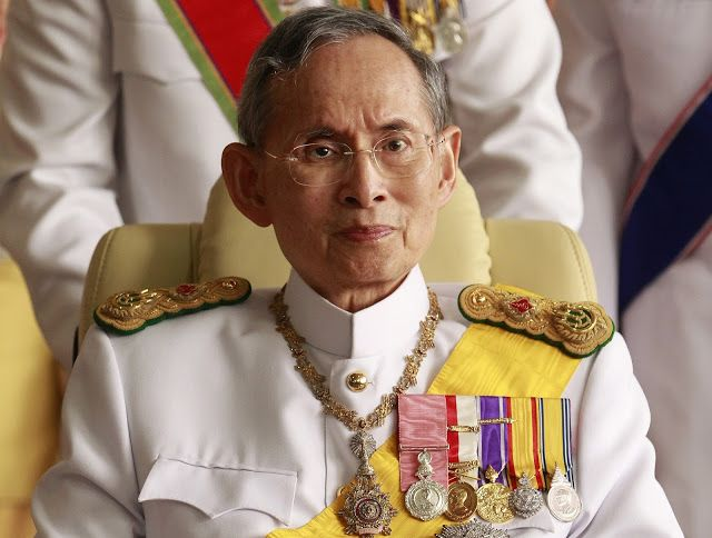 King Bhumibol Adulyadej of Thailand is dead - BREAKING NEWS   Thailand's King Bhumibol Adulyadej the world's longest-reigning monarch has died after 70 years on the throne. The 88 year old king was widely revered and deeply loved in Thailand. He was seen as a stabilizing figure in a country hit by cycles of political turmoil and multiple coups. King Bhumibol the ninth king of the 234-year-old Chakri dynasty died at the Siriraj Hospital in the capital Bangkok. More details later.......  dead…