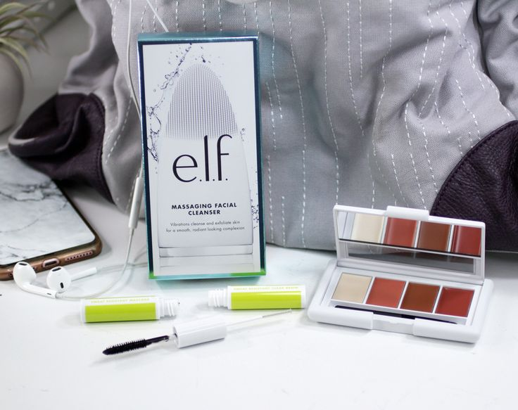 New line of makeup & skincare for the gym from @elfcosmetics! Click to see which ones are must buys (omg the mascara/brow gel is everything!!) and which ones to skip (there are some I'd never put on my face)!