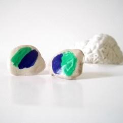 Taş Küpe - #tasarim #tarz #yesil #rengi #moda #hediye #ozel #nishmoda #green #colored #design #designer #fashion #trend #gift yeşil tasarım