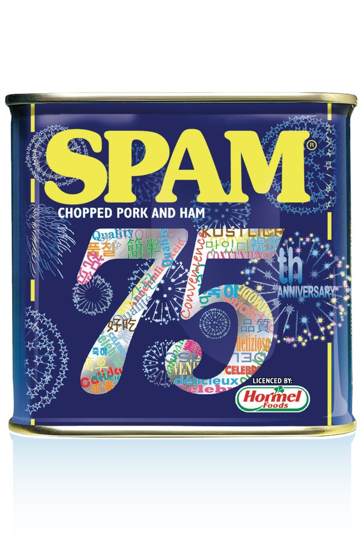 SPAM is celebrating its 75th Anniversary this year