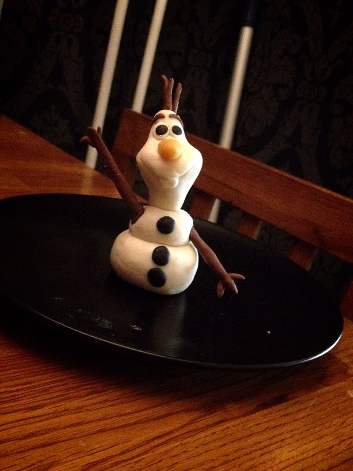 Olaf from frozen (Done christmas 2014)