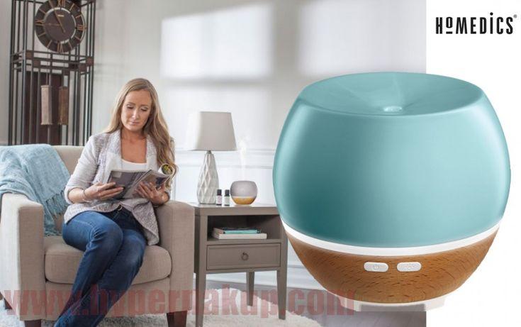 Vytvorte si vo Vašom domove jedinečnú atmosféru s touto arómou lampou. Difuzér funguje na ultrazvukovej technológii a vypúšťa do vzduchu jemnú hmlu. Stačí pridať pár kvapiek Vášho obľúbeného esenciálneho oleja a vytvoríte si tak doma pocit, ako by ste boli v prírode. Difuzér je vyrobený z prírodných materiálov - dreva a keramiky. Môžete si vybrať medzi dvoma spôsobmi uvoľňovania hmly. Buď zvoľte variantu 6 hodín nepretržitého uvoľňovanie hmly, alebo si vyberte druhú možnosť, kedy difuzér…
