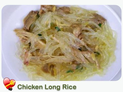 Chicken Long Rice - ILoveHawaiianFoodRecipes  (Long rice = rice noodles)