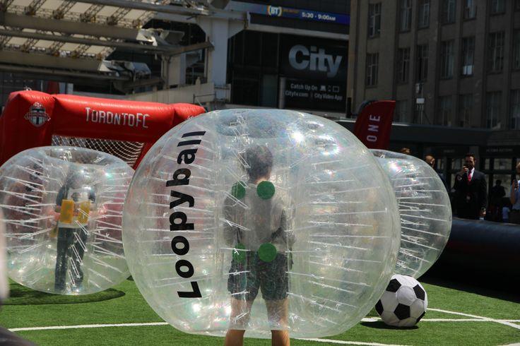 Promoting Toronto FC @ Yonge-Dundas Square
