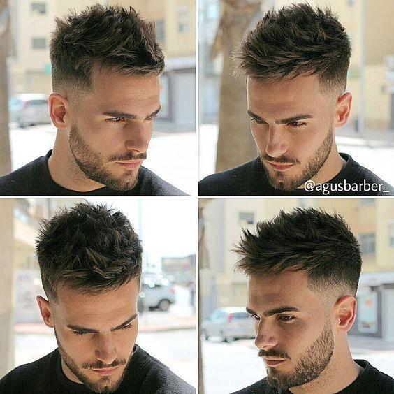 Coole-Frisuren-für-Männer-2017-chic-kurz-Haarschnitt