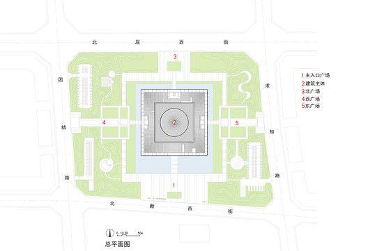Da Chang Muslim Cultural Center,Master plan