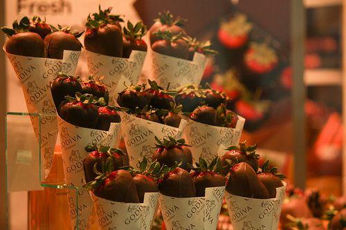 chocolat strawberries