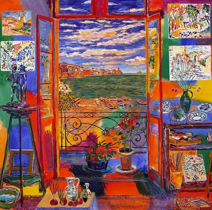 Henri Matisse, Estudio en Colliure, 1905.