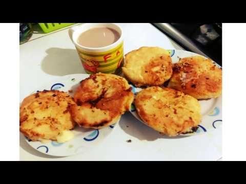 Arepas con queso doble crema y harina de trigo - YouTube