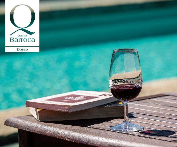 O dia esta convidativo para uma leitura e um Vinho do Porto. #QuintadaBarroca #Douro #Agroturimso #PortWine