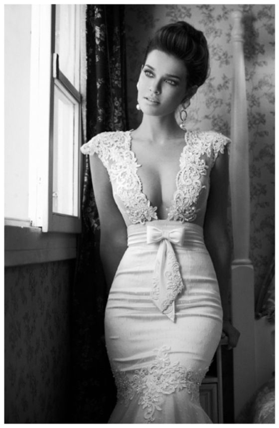 Berta Wedding Dress Collection Really Pretty But It Needs A Semi Sheer Panel To Cover The