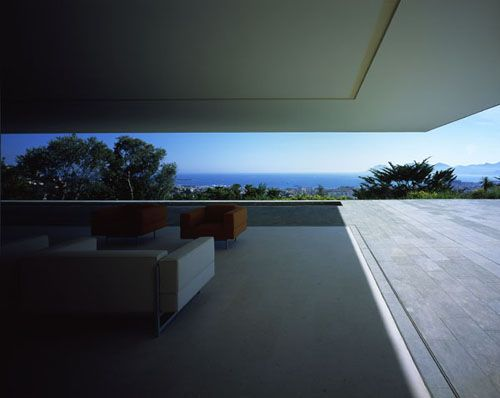 Marc Barani  amazing cantilever - doors to front face recess into the floor!!