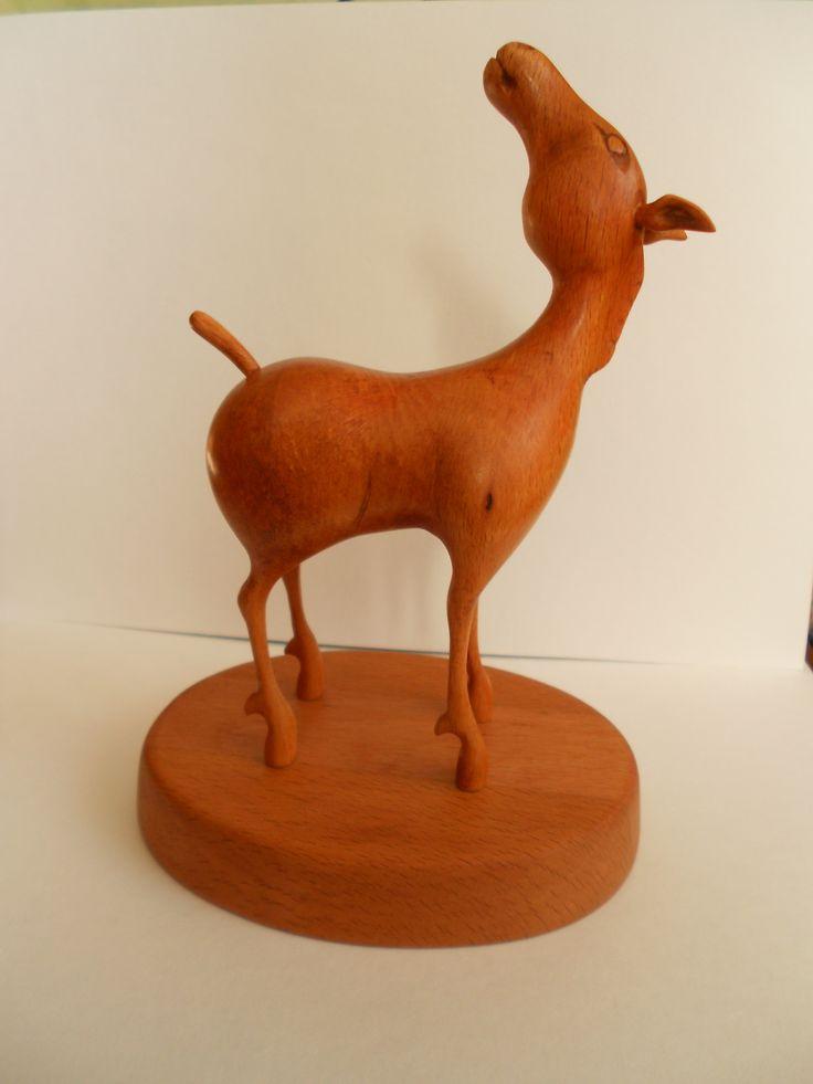 Лошадка из бука. Вдохновил Даши Намдаков. Посмотрите его работы