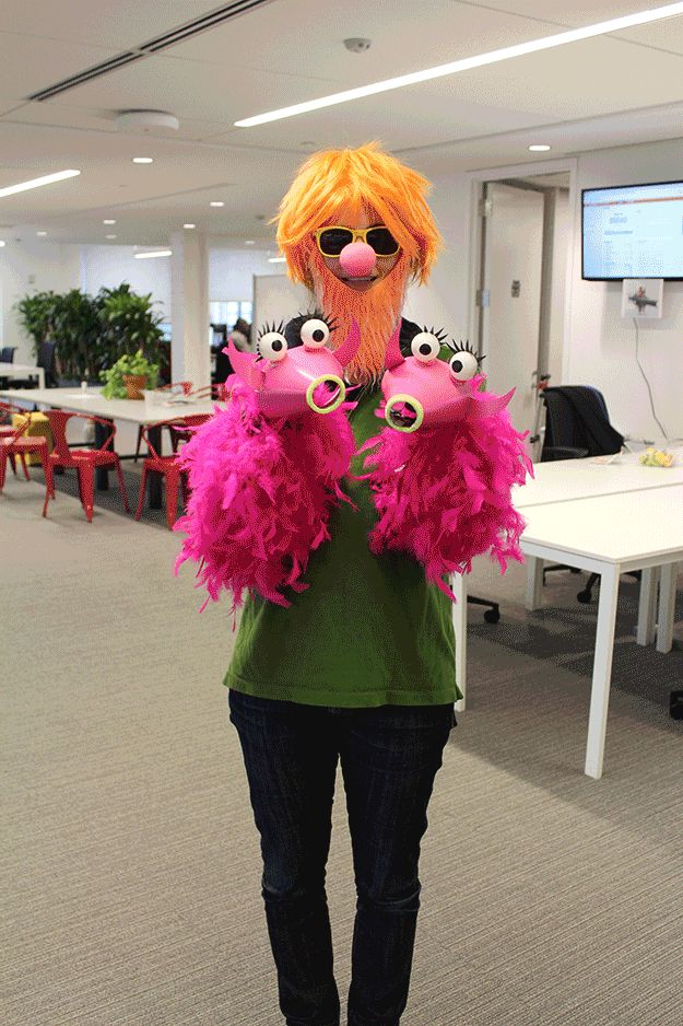 34 BuzzFeed Employees Who Dressed Up For Halloween -OMG this guy wins Halloween!!!