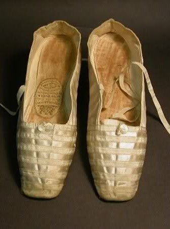 Queen Victoria's wedding shoes at the Royal Order of Sartorial Splendor
