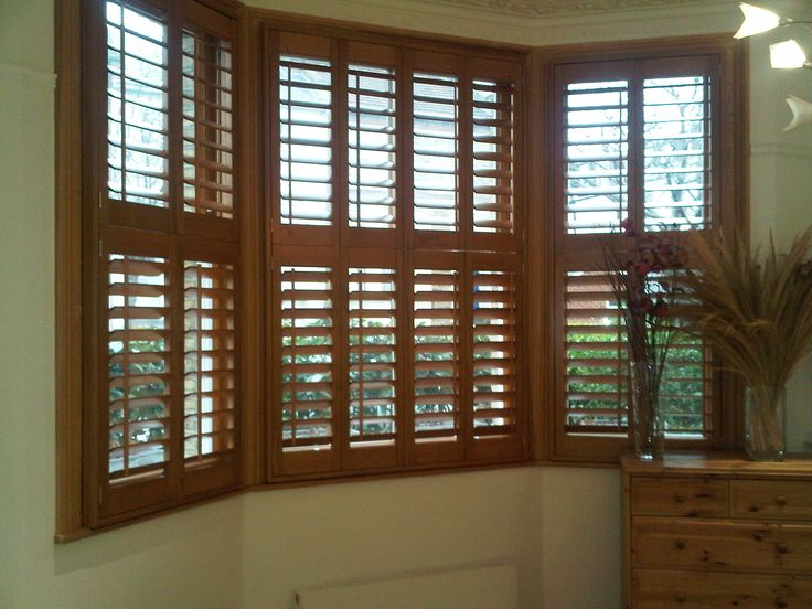 window treatments for craftsman home with dark wood - Bing Images