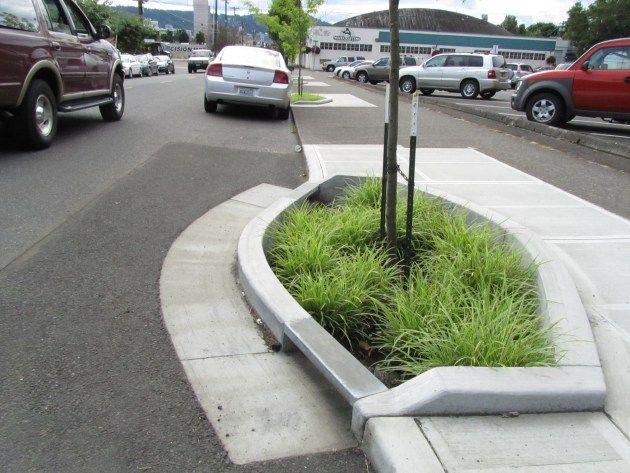 Roadside Garden: bioswale projects to restore water cycle in Portland, Oregon