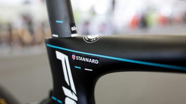 Ian Stannard's Pinarello Dogma F10, Tour Down Under - 2017