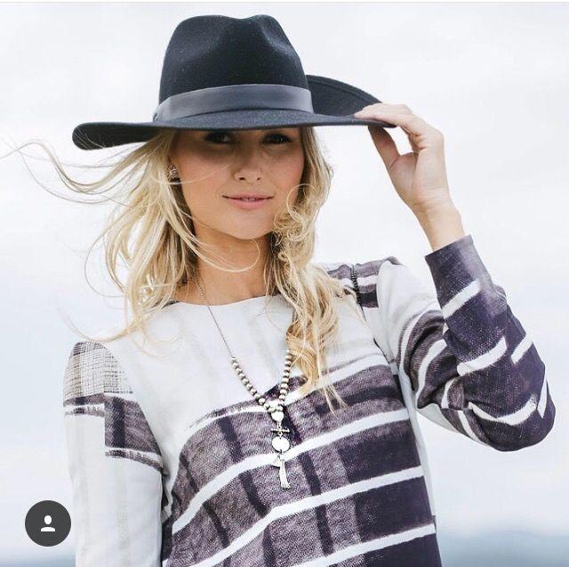 H&M Dress and Husk Hat