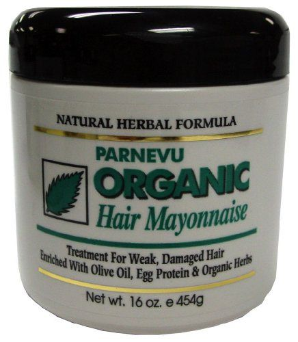 Parnevu Organic Hair Mayonnaise 16 oz. (Pack of 2) - http://essential-organic.com/parnevu-organic-hair-mayonnaise-16-oz-pack-of-2/