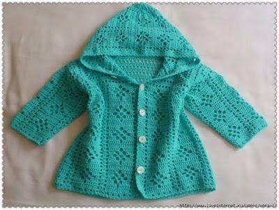 Tina's handicraft : baby cardigan