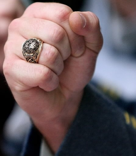 The Citadel ~ the Ring ~ a proud moment, well deserved ...
