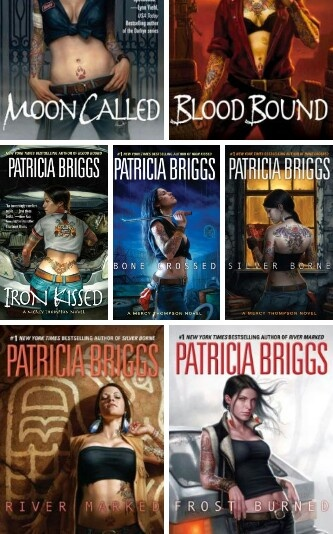 Mercy Thompson novels by Patricia Briggs..... one of the best series in urban fantasy.